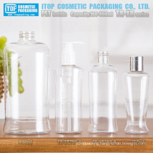 TB-XR Series 160ml 200ml and 800ml single layer multi usage good quality unique oval shape clear plastic pet bottle
