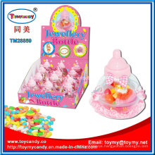 China Supplier Baby Toy Plastic Jewelry Bottle Confectionery Toy