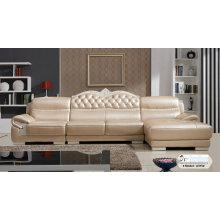 Muebles para el hogar, sala de estar sofá de cuero, sofá de Europa (SA315)