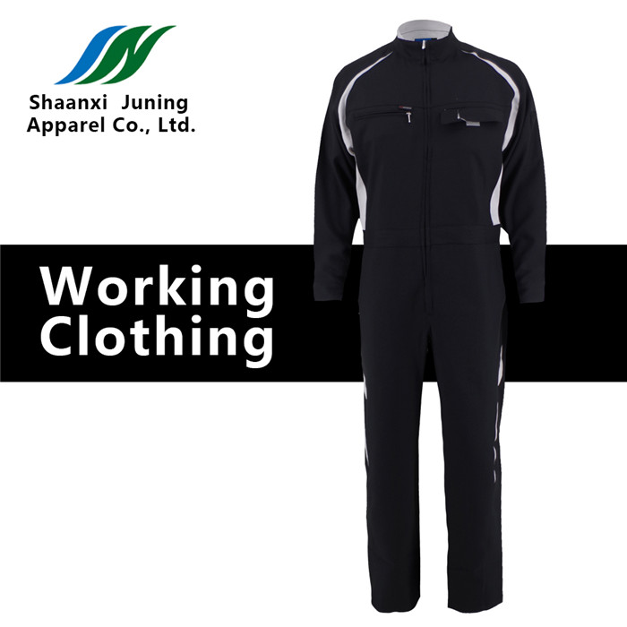 Black Working Overalls