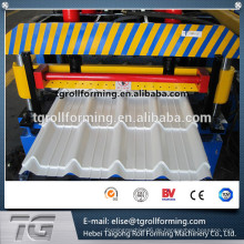 Bestes Material Irap Traditionelle Glasierte Fliese Roofing Roll Formmaschine mit neuer Technologie