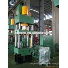 hydraulic track press/ram forming machine