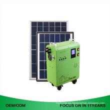 Pequeño generador solar de 50 Kw de techo solar instalado con panel solar