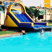 Гигантские популярные дешевые дети Дети большие надувные водные слайды