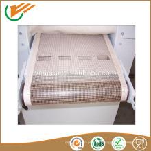 Alta resistencia a la tracción Venta caliente Buena Material y larga vida útil ptfe cinta transportadora para máquinas de embalaje