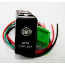 Conmutadores pulsadores con luces LED dobles Toyota Switch (MAI YU)