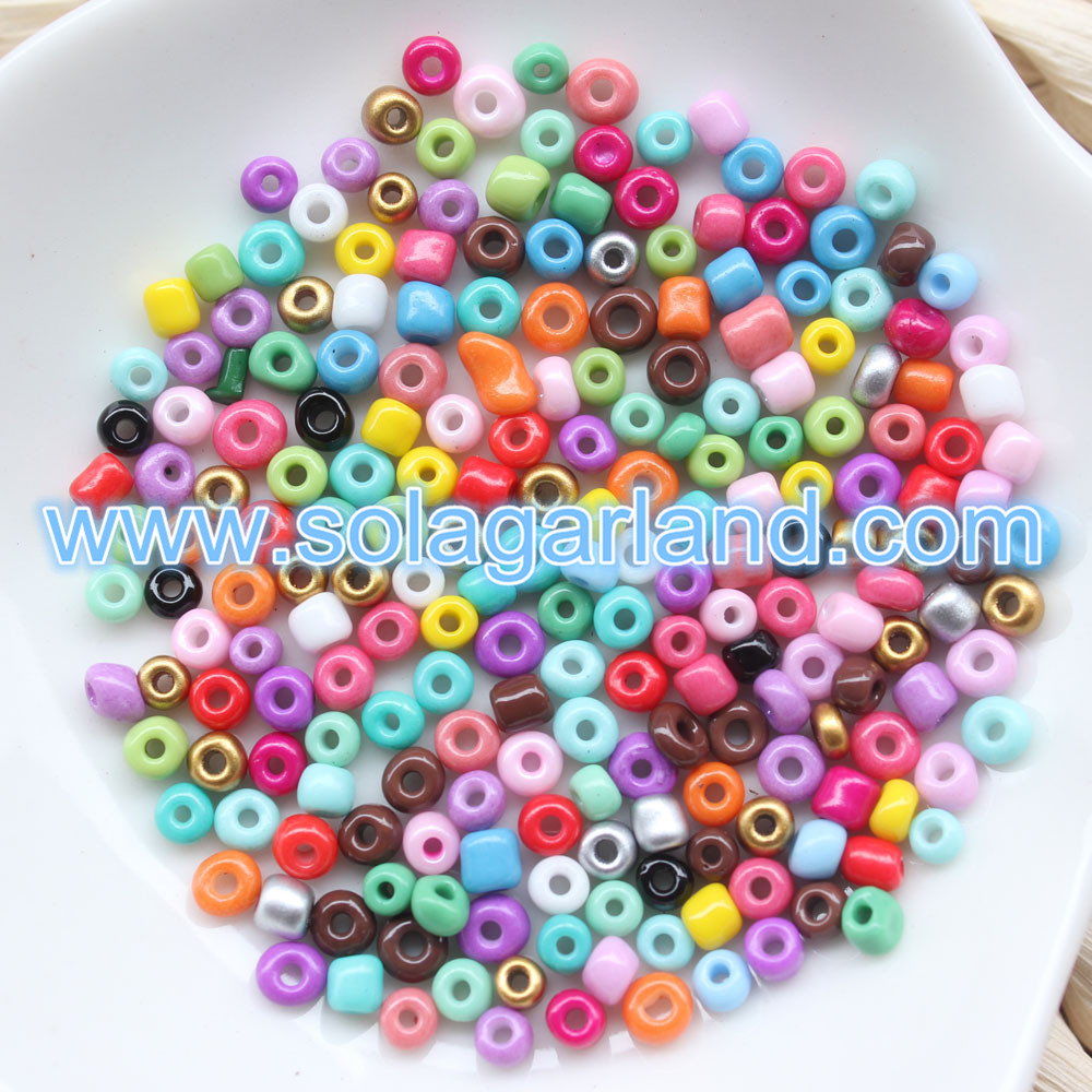 6/0 Round Glass Tiny Beads