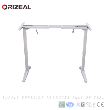 Fashion Creative Electric Healthy Metal Working Desk Sit Standing Desk Height Adjustable Desk with lifting column
