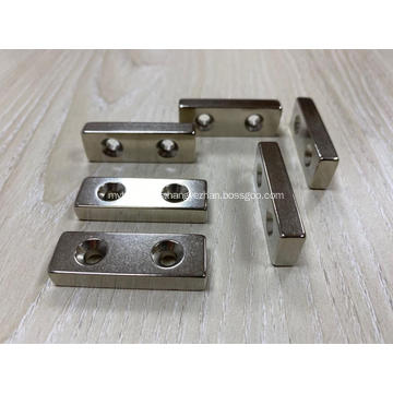 Double Countersunk Neodymium Magnets