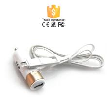 Nouveau chargeur de voiture intelligente design avec câble USB pour rechargement d'ordinateur portable