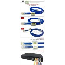 Utp ftp sftp cat6 cable de conexión / 1 2 3 m cable de conexión cat6 / cable de conexión de red Ethernet cable