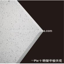Teto acústico de fibra de vidro
