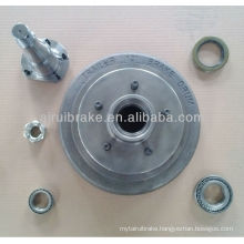 "Trailer Part 12"" Brake stub hub Drum bearing kits"