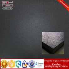 Hot vente produit intérieur et extérieur noir carreaux de sol en porcelaine émaillée rustique