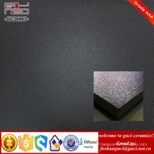 hot sales product interior and exterior black rustic glazed porcelain floor tiles