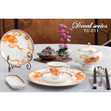 wholesale cutlery handmade pottery dinnerware set