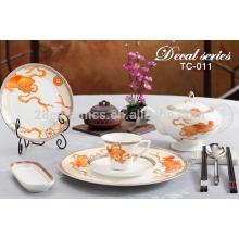 Набор столовых приборов для столовой посуды ручной работы