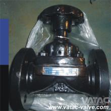 Válvula de diafragma de alambre de acero fundido