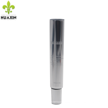 skin enhancer cosmetic eye cream tube with open tube tail