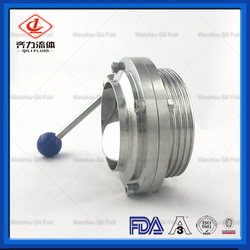 High Performance Butterfly valve with welding and Thread