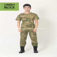 Men Camouflage Sport Army Round Collar Casual T-Shirts