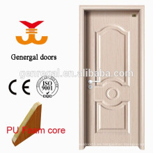 PU puerta interior de acero del aislamiento térmico del núcleo