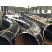 Accesorios de tubería soldables de acero del codo