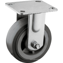 "Heavy Duty 5"" Fixed Plate Casters"