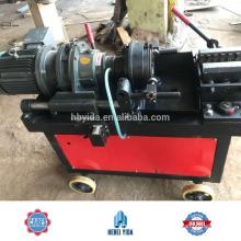 Venta caliente BTS-2 Steel Rebar End Máquina de corte de hilo paralelo para Hebei Yida Upset Forja Rebar