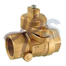 válvula com fechadura de latão
