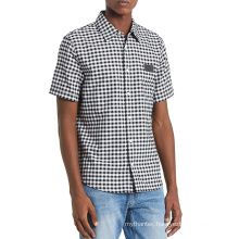 The short sleeve shirts with turn down collars for men big and tall