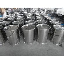 Lait d'ordure en acier inoxydable 20L-30L