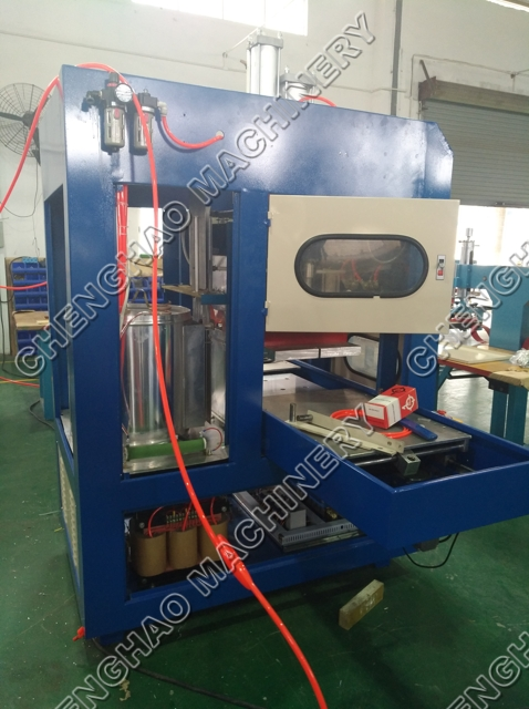 HF welding & cutting machine