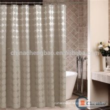 European style polyester shower curtain fabric bathroom curtain