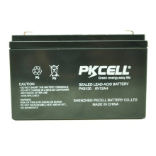 2018 6v 12ah batería de plomo sin necesidad de mantenimiento