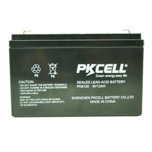 2018 6v 12ah maintenance free lead acid battery