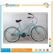 China 2016 hot new cheap urban bike high quality 26'' retro city bike with dynamo light