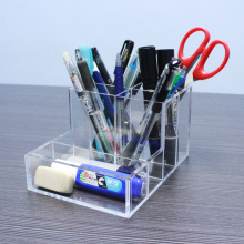 Multi+Functional+Acrylic+Office+Desk+Accessories+Organizers