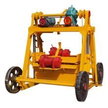 Las empresas de fabricación de moldes de bloque hueco QTF40-3B bloquean la máquina apiladora