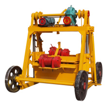 QTF40-3B egg laying block machine for making paver and hollow block qt4-15 concrete solid brick machine