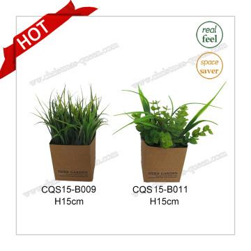 H15cm Plastic Wedding Garden Decoration Artificial Plant Flowers
