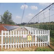 irrigação por pivô do centro solar