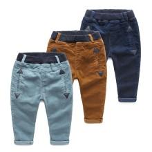 Autumn Kid Boy Clothing Frock Design Jogger Pants