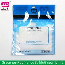 sac scellable en plastique transparent d'emballage alimentaire pour les aliments congelés