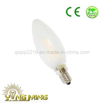 Frost C35 3W 220V LED Filament Bulb