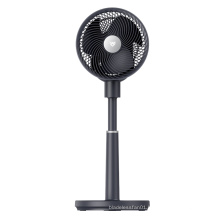 BeON Black Color Pedestal Standing Home House Indoor Oscillation Air Circulation Fans