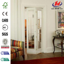 80in Optique Wood  Interior Bi-fold Door