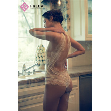 Hot sale for Sexy Lace Lingerie Sexy Lace Halter Teddy Wedding Night Lingerie supply to India Manufacturers