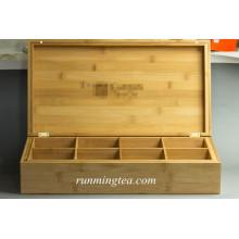 Boîtes multiples en bambou personnalisées