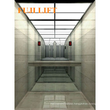 Hairline Mirror Etching Passenger Elevator for Residential Usage